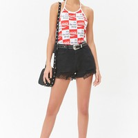 Coca-Cola Checkered Halter Top