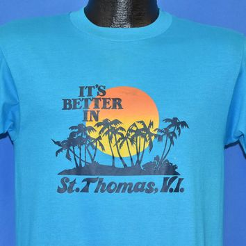 80s Its Better in St. Thomas t-shirt Small