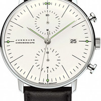 Junghans Max Bill Chronoscope Automatic Chronograph Watch 4600