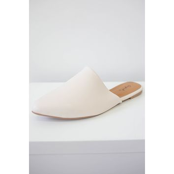 Easlyn Mules - Off White