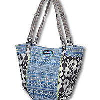 Kavu Bag It Up Printed Tote - Blue Blanket