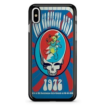 The Grateful Dead Poster iPhone X Case