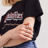 Mixed Metal Ring Set | Urban Outfitters