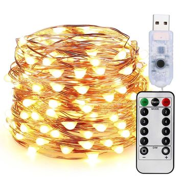 Christmas Lights USB String Lights With Remote Control