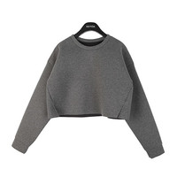 Simple Cushion Cropped Top
