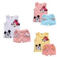 Baby Girl Minnie Mouse Set Baby Clothing