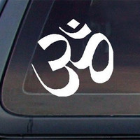 OM (OHM) Symbol Car Decal / Sticker