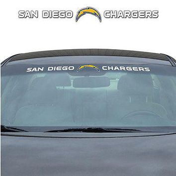 San Diego Chargers NFL Licensed Auto Car Truck Windshield Decal