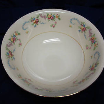 Vintage Homer Laughlin China Dinnerware Dubarry Rosemary Eggshell Round Bowl