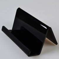 Acrylic name card holder desktop stand phone display rack