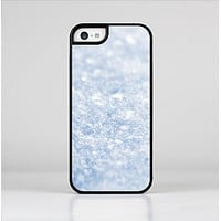 The Sparkly Snow Texture Skin-Sert Case for the Apple iPhone 5c