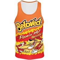 Flamin' Hot Men's Cotton Tank Top