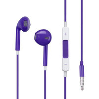 Purple Stereo Handsfree Headset 3.5mm Earphones Headphones for Apple iPhone 6 Plus / 6S Plus (5.5)