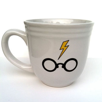 Harry Potter inspired mug by squackdoodle on Etsy