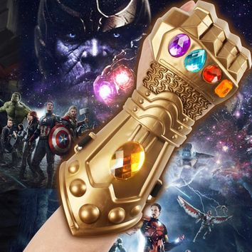 Thanos Mask Infinity Gauntlet The Avengers Infinity War Gloves Prop Helmet Cosplay Thanos Masks Captain America Halloween Party