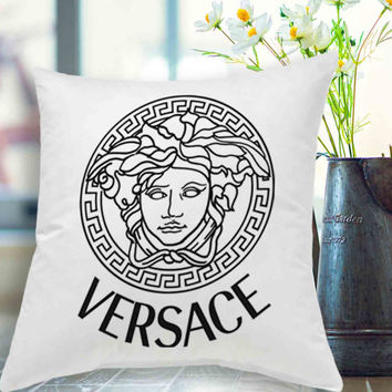 "versace medusa pillow case # 18"" x 18"" , 16"" x 24"" , 20"" x 30"""