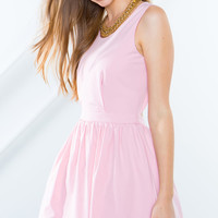 Prim Scallop Hem Dress