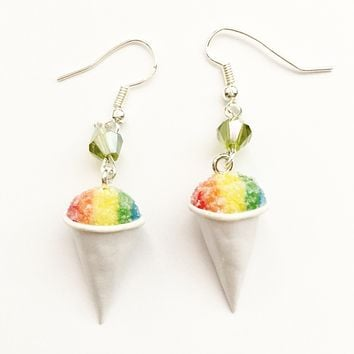 Snow Cone Dangle Earrings