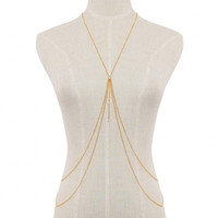 Mutirow Pendant Body Chain