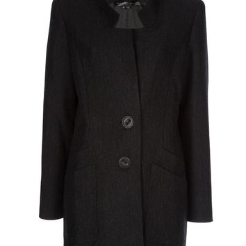 Theyskens' Theory Fan Collar Coat