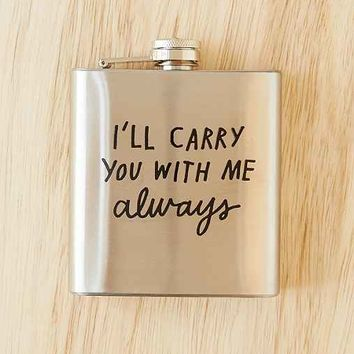 ADAMJK X UO Carry You Flask