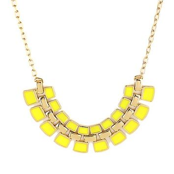 Theresa Necklace – Yellow