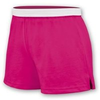 Girls Soffe Shorts in a Variety of Colors including Black, White and Pink Soffe Shorts from Omni Cheer