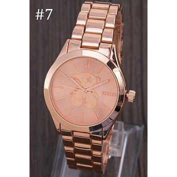TOUS 2018 new personalized custom ladies fashion quartz watch F-YY-ZT #7