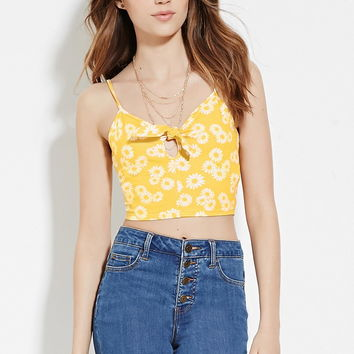 Floral Cropped Cami | Forever 21 - 2000185924