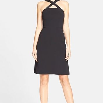 Women's Theory 'Celia' Crepe A-Line Dress