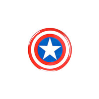 Marvel Captain America Shield Pin