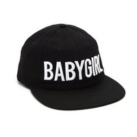 BABYGIRL 6 PANEL CAP
