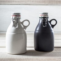 Handmade Portland Ceramic Growlers - 2 Colors - Tools & Gear