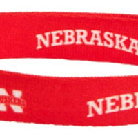 NCAA Nebraska Red Large Dog Collar