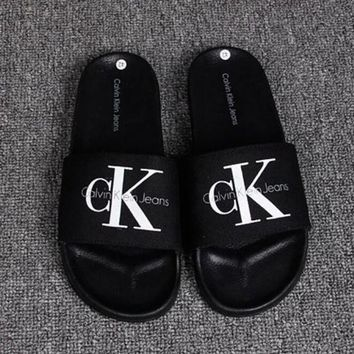 Calvin Klein Casual Fashion Women Sandal Slipper Shoes H-RELAX-XS