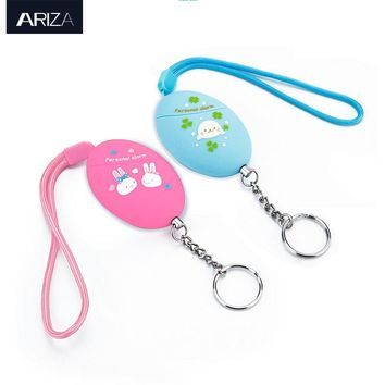 2017 new model support small order customized Ariza personal alarm keychain for self defense
