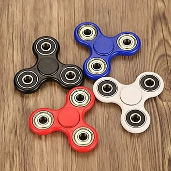 Tri Hand Fidget Spinner- 4 Colors