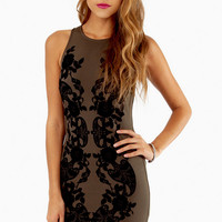 Lace with Grace Bodycon Dress $42