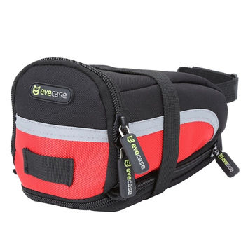 Bike Saddle Bag - Evecase Bicycle Strap-On Under Seat Post Trail Pouch Bag Cy...