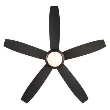 GE Treviso 52 in. Oil Rubbed Bronze Indoor LED Ceiling Fan-20321 - The Home Depot