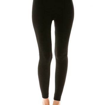 Solid Fleece Lined Leggings (MORE COLORS)