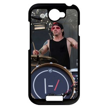 Twenty One Pilots Josh Dun And Tyler Joseph Art HTC One S Case