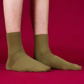 Gentleman's Essentials Sock | Olive Green