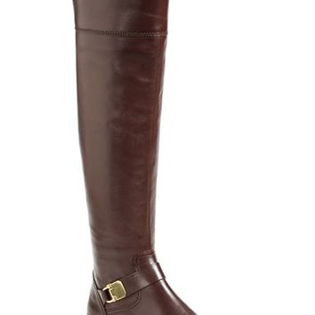 COACH 'Madeleine' Over the Knee Leather Boot (Women) | Nordstrom