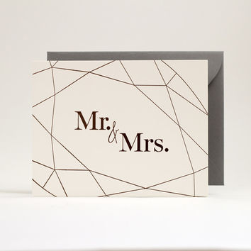 Wedding Collection: Mr. & Mrs.