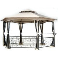 Sunjoy Walmart Summer Foliage Gazebo Replacement Fabric