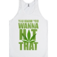 White Tank | Cool Weed 420 Shirts