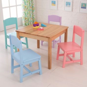 Seaside Table & 4 Chairs