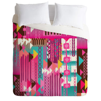 Mary Beth Freet Navajo Party Duvet Cover