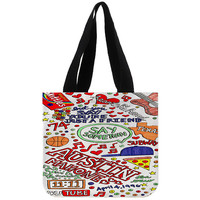 Austin Mahone Love Art Quote - Totebags